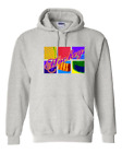 Hoodie Pullover Sweatshirt Sports Hockey Warhol