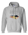 Hoodie Pullover Sweatshirt John Adams But A Constitution Changed Lost Quote