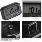 2.7Small LCD Digital Time & Date Alarm Clock Stop Snooze Night Light Kitchen