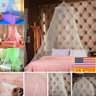 Home Bed Mosquito Net Elegant Canopy Indoor or Outdoors Round Hoop Bed Netting image