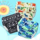 Cute Baby Infants Newborns Diapers Pants Reusable Nappies Cloth Diaper Washable