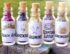Mini Apothecary Herb Bottles - Organic Botanical Vials - Wicca Decor Altar Gift