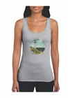 Womans Gildan Tank Top Country Lighthouse Learn By Going