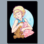 Sleeping Beauty Girl  METAL POSTER SIGN OR CANVAS OR POSTER WALL ART