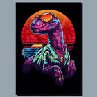 The Raptor Animal METAL POSTER SIGN PLAQUE OR CANVAS OR POSTER WALL ART