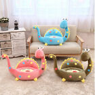 Внешний вид - Dinosaur Plush Giraffe Sofa Stuffed Animal Cushion Seat Soft Toy kindergart Gift