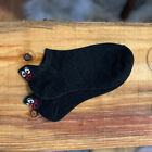 Cartoon Embroidered Expression Women Cotton Socks Fashion Ankle Funny Socks #