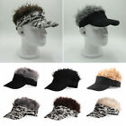 Unisex Wig Golf Cap Baseball Cap Sun Hat Hip-hop Headwear Halloween Xmas Cosplay