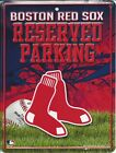 Boston Red Sox Metal Parking Sign - PSM3901 on Ebay