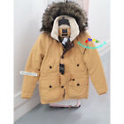 ABERCROMBIE & FITCH MENS ULTRA PARKA JACKET COAT GOLD YELLOW SIZE LARGE
