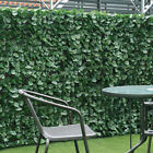 Artificial Leaf Hedge Roll Garden Privacy Fence Screen Green Hedging Wall Cover