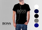 """NEW HUGO BOSS MEN'S CREW NECK ATHLEISURE T-SHIRT, PICK YOUR SIZE/COLOR"" image"