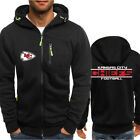Kansas City Chiefs Hoodie Warm Jacket Sporty Sweatshirt Zipper Coat Autumn Tops on eBay