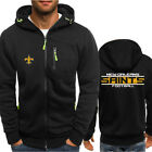 2019 New Orleans Saints Fan Hoodie Sporty Jacket Sweater Zipper Coat Autumn Tops on eBay