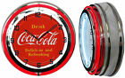 "19"" Double Neon Clock Drink Coca Cola Delicious and Refreshing Coke Red sign $197.3  on eBay"