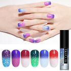 LILYCUTE 5ml Holographic Thermal Color Changing Gel Polish Soak Off Nail Gel