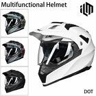 ILM Off Road Motorcycle Dual Sport Helmet Full Face Sun Visor Dirt Bike ATV DOT