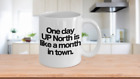 UP North Love Coffee Mug Funny Gift for Yooper Great Lakes Vacation Deer Camp Fi