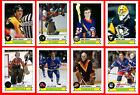 RETRO High Grade 1980s Hockey Card Style PHOTO CARDS N.Jersey to Winnipeg U-Pick $0.75 USD on eBay