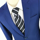 Perfect Fit Guarantee Men Two Button Slim Suit Formal Business Wedding All Sizes