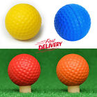 Practice Foam Golf Balls Easy Visibility Training Indoor Outdoor 12 Or 24 Pcs AU