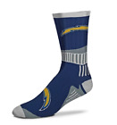 For Bare Feet Los Angeles Chargers Sport Big Crew Socks $10.99 USD on eBay