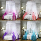 Bed Canopy Romantic Round Dome Mosquito Net King Queen Full Twin Size  image