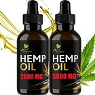 2 pack Hemp Oil Organic Extract For Pain Relief, Stress Anxiety, Sleep - 5000 mg $17.99 USD on eBay