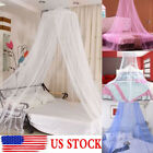 Round Dome Lace Curtain Insect Bed  Netting Princess Mosquito Net Princess image