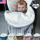 Kyпить Baby Hooded Swaddle Knit Wrap Blanket Warm Pram Pushchair Stroller Sleeping Bag на еВаy.соm