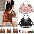 Women Vintage Leather Handbag Shoulder Bags Tote Boho Crossbody Purse Satchel US