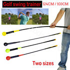 Golf Swing Trainer Indoor Practice Stick Club Strength Tempo Flex Training Aid