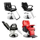 Hydraulic Barber Chair Modern Salon Haircut Styling Spa Shampoo Beauty Equipment