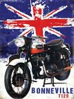 Triumph Bonneville T120 Classic British Motorcycle- Metal/Steel Wall Sign £2.95 GBP on eBay