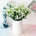 Us Artificial Flowers Fake Plant Outdoor Faux Floral Greenery Shrubs Home Decor