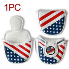 Club Protector Golf Magnetic Closure Universal PU Leather Putter Cover Headcover