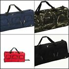Rockland Luggage 40 Inch Rolling Duffle Wheels and Zipper Bag Internal Handle