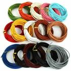 1 Pc Cord Wire Genuine Leather Cords Round Rope String For Jewelry Making Bracel