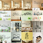 Vinyl Home Room Decor Art Quote Wall Decal Sticker Bedroom Removable Mural Jk