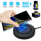 Fast Wireless Charger Charging Pad Stand Dock for Samsung Galaxy Note 9/8 S9 S8