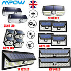 Mpow 20/30/54/66/102 Outdoor LED Solar Powered Wall Light Motion Sensor Security