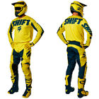 Equipement Tenue Motocross Shift Racing White York Jaune Downhill Enduro OUTLET