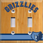 Basketball Memphis Grizzlies  Light Switch Cover Choose Your Cover on eBay