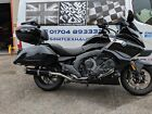 BMW K1600B Bagger 2016- Stainless/Black Tri-Oval Triple Outlet Exhaust Mufflers