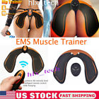 EMS ABS Muscle Training Hip Buttocks Lift up Trainer Tool Stimulator Body Shape image
