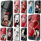 Betty Boop Dizzy Dishes Case Cover iPhone 11 Pro 7 8 plus X XS XR MAX Tempered $13.05 CAD on eBay
