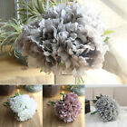5 Heads Silk Peony Artificial Flowers Fake Bouquet Wedding Home Party Decor