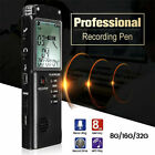 Rechargeable Recording Pen Digital Audio Voice Recorder Dictaphone MP3 Player