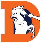 Denver Broncos Retro Decal ~ Car Truck Vinyl Sticker - Wall Graphics, Cornholes $28.99 USD on eBay