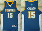 New Men's Denver Nuggets #15 Carmelo Anthony Basketball jersey Mesh Blue S-XXL on eBay